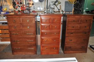 The first set of 3 dressers