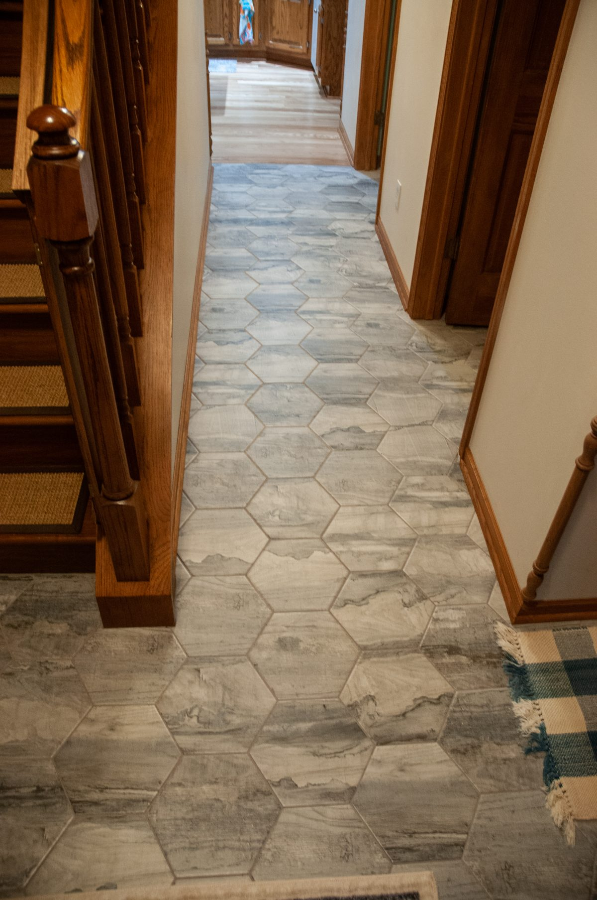 First floor tile project part 3