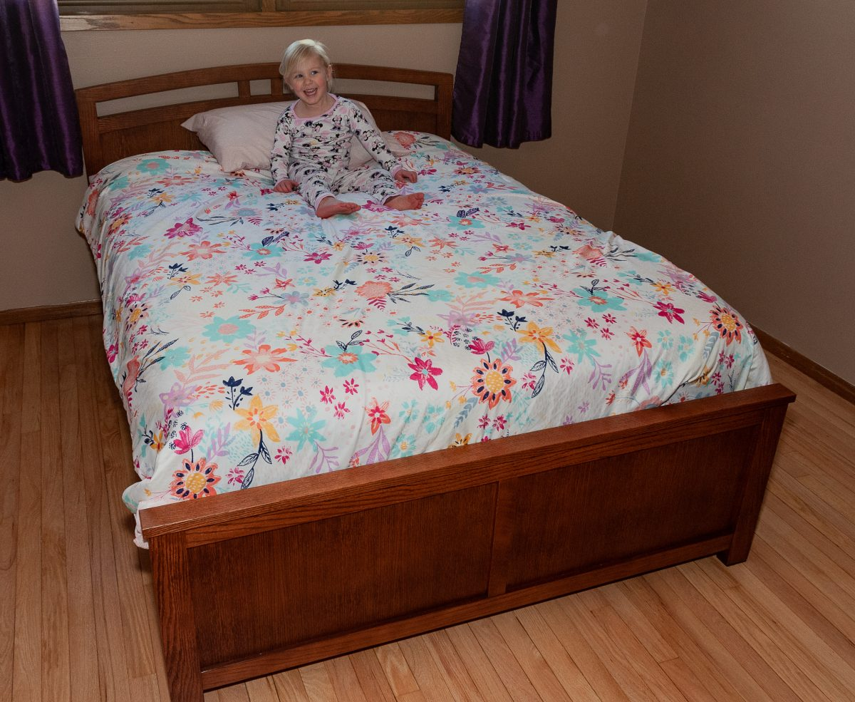 Olivia's Bed – Delivery Day