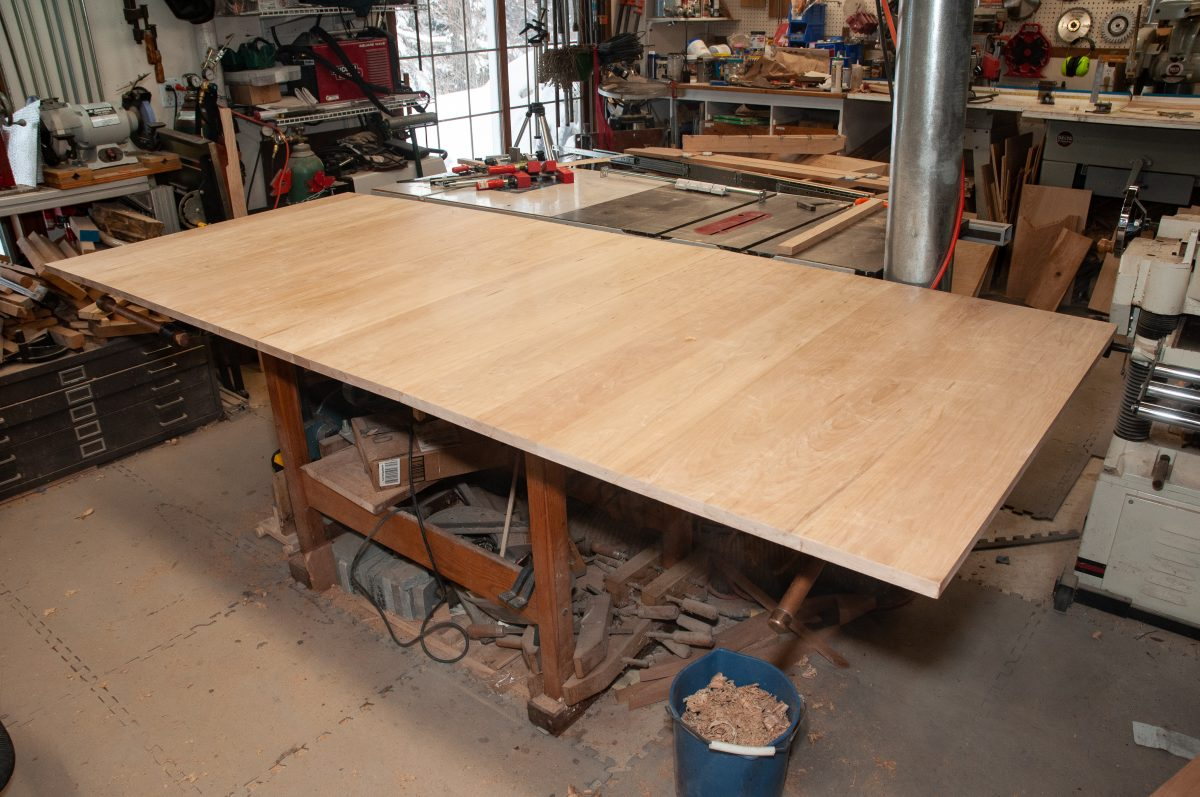 Dining Table – Top Joinery